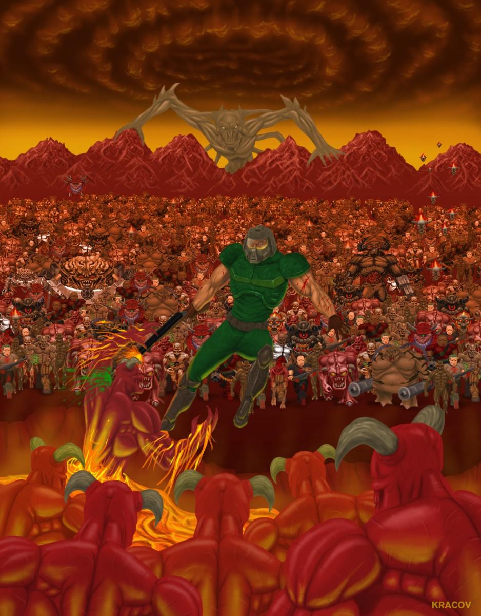 Kracov S Doom Art