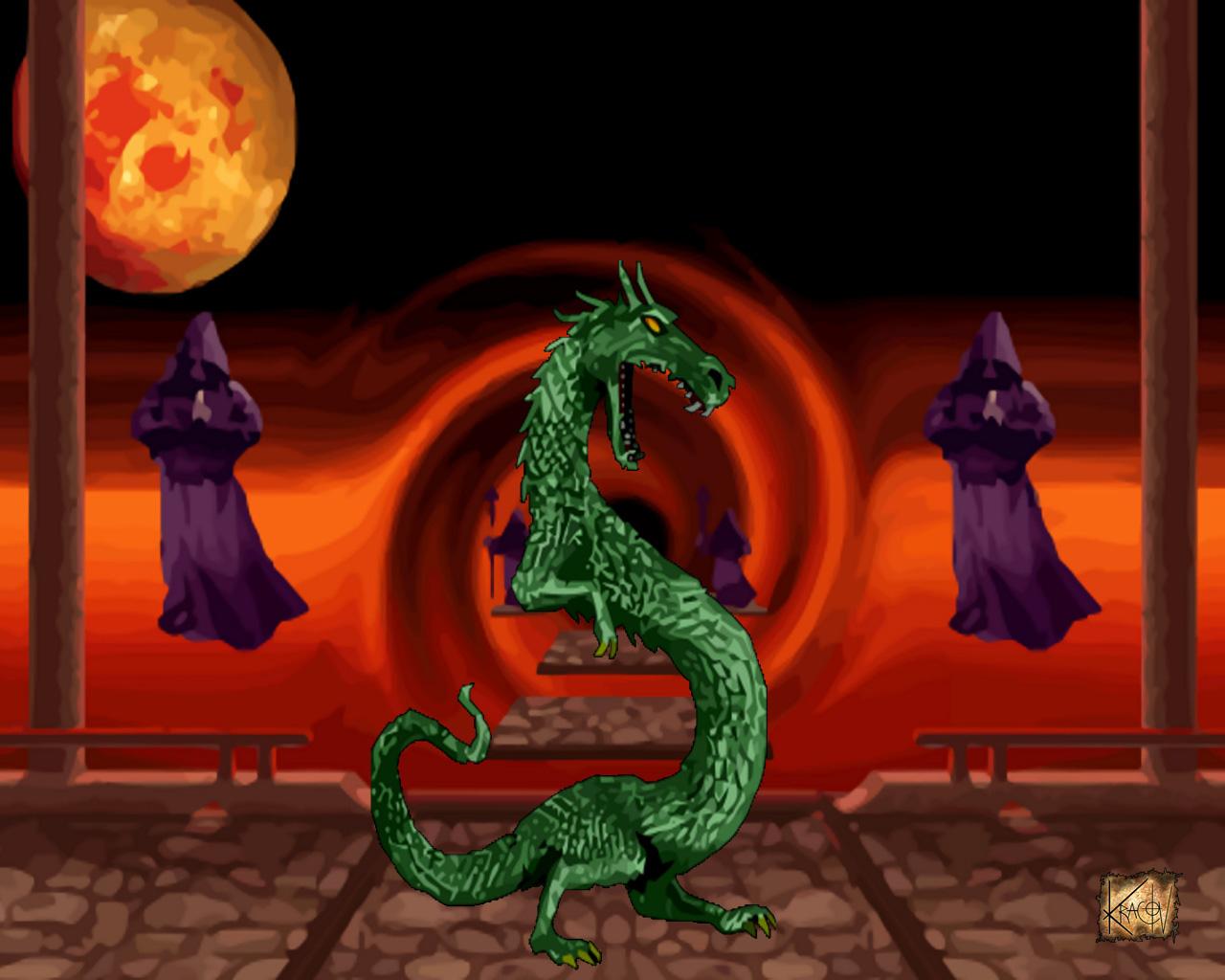 Mortal Kombat Dragon: Kracov's Game Art